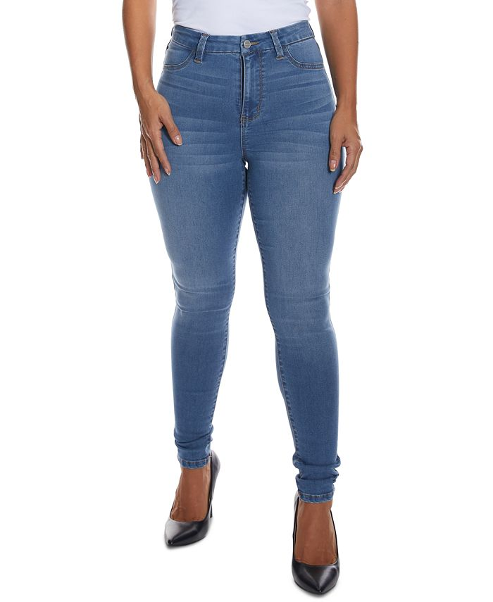 Dollhouse - Juniors' Curvy-Fit High-Rise Skinny Jeans