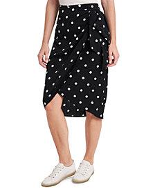 Riley & Rae Ami Dot-Print Skirt, Created for Macy's