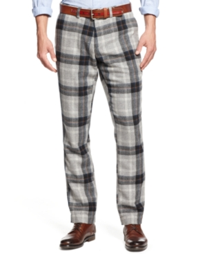 checkered dress pants - Pi Pants
