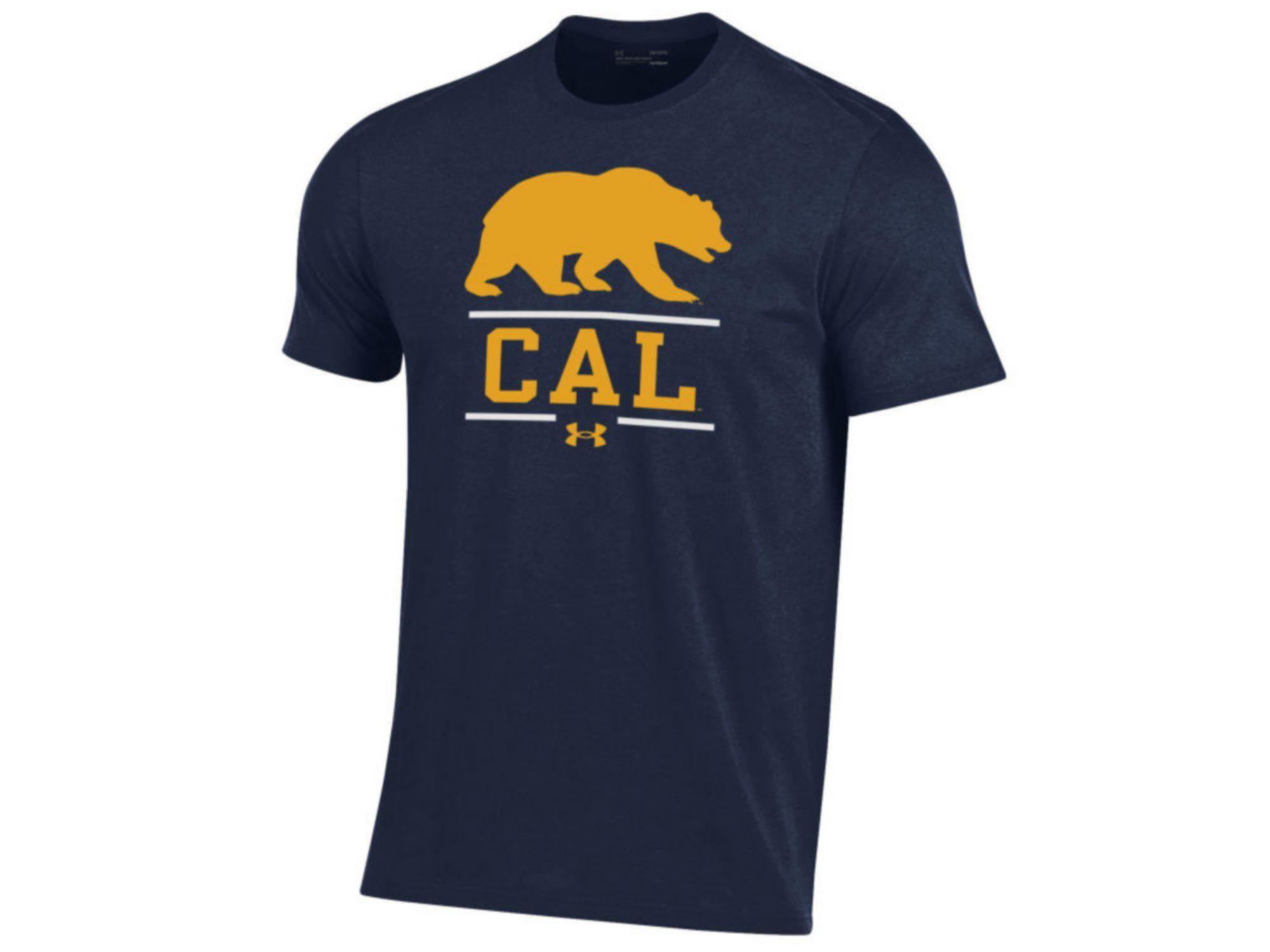 Under Armour Men's University of California Golden Bears Performance Cotton T-Shirt & Reviews - NCAA - Sports Fan Shop - Macy's