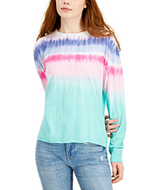 Belle Du Jour Juniors' Tie-Dyed Top