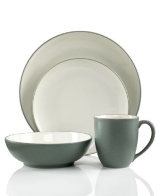 Noritake Colorwave Green Coupe 4-Piece Place Setting