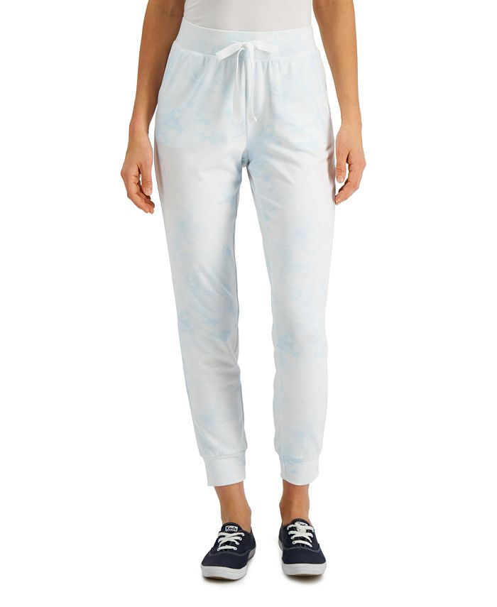 Style & Co - Cloudy Tie-Dye Jogger Pants