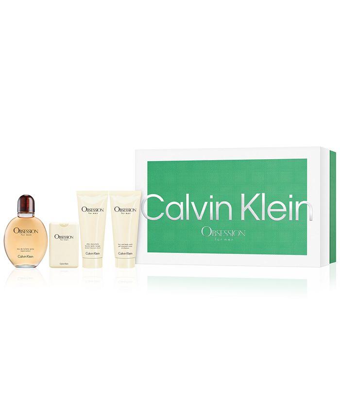 Calvin Klein - Men's 4-Pc. Obsession Eau de Toilette Gift Set