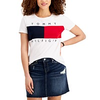 Tommy Hilfiger Big Flag T-Shirt Womens