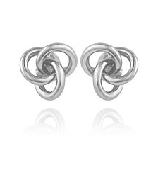 T Tahari Women's Love Knot Earring