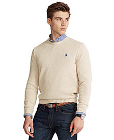 Polo Ralph Lauren Men's Cotton Crewneck Sweater