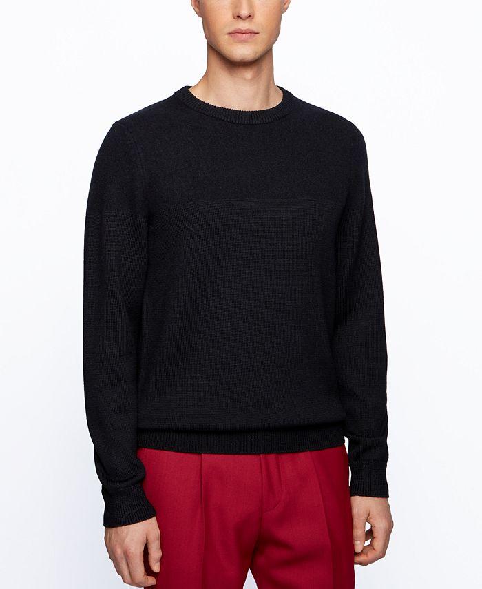 Hugo Boss - Men's Dilio Regular-Fit Sweater