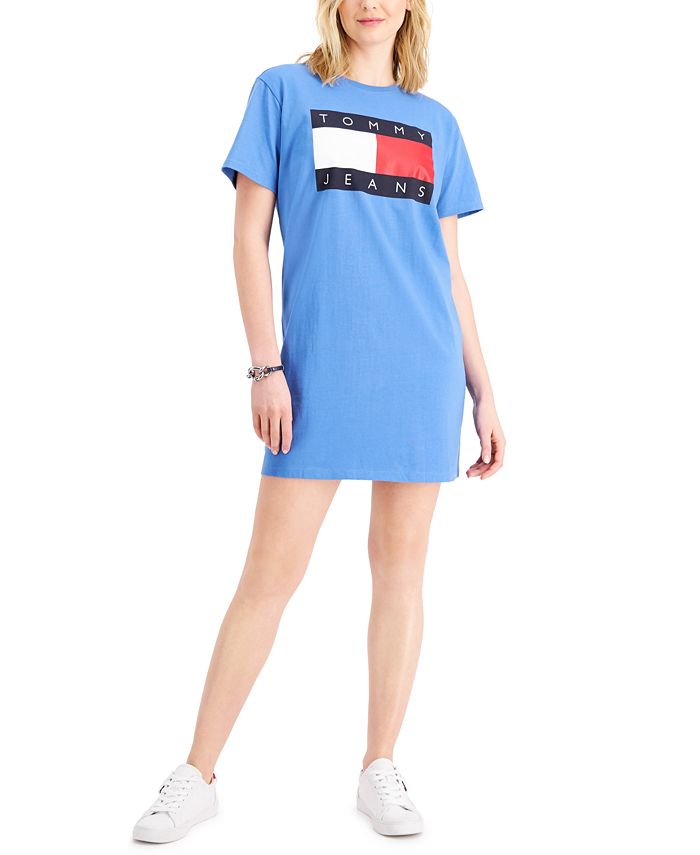 Tommy Jeans - Logo Tee Knit Dress