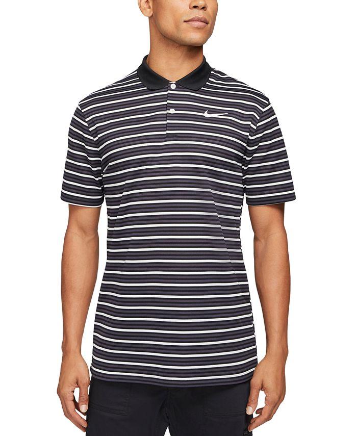 Men's Dri-FIT Golf Victory Striped Polo Shirt