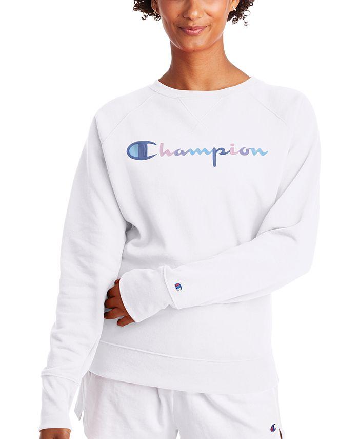 Champion - Powerblend Fleece Logo Sweatshirt