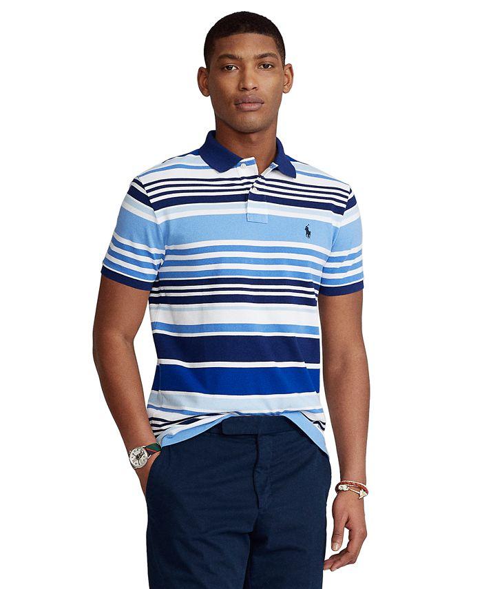 Polo Ralph Lauren Men's Classic-Fit Striped Polo Shirt & Reviews ...