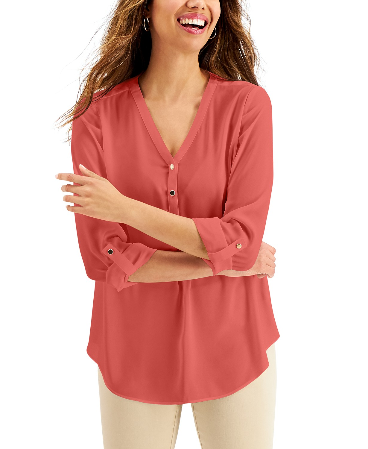 JM Collection Utility Top, Created for Macy's