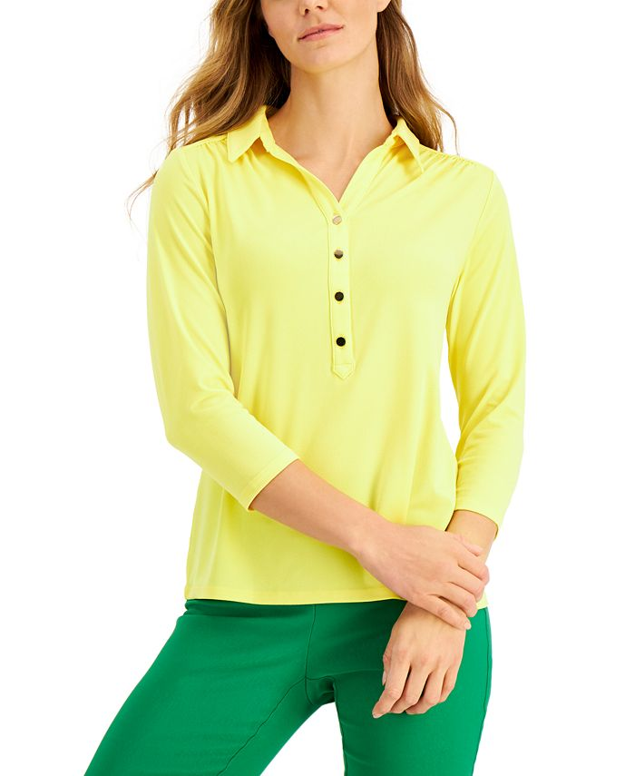 Knit Polo Shirt, Created for Macy's