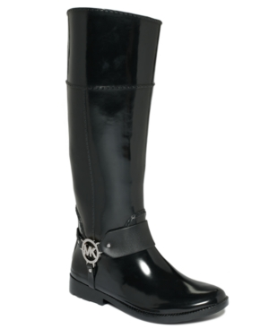 MICHAEL Michael Kors Fulton Harness Rain Boots Womens Shoes