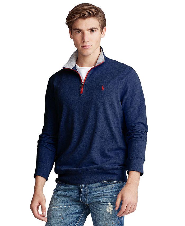 Polo Ralph Lauren - Men's Cotton Mesh Half-Zip Pullover