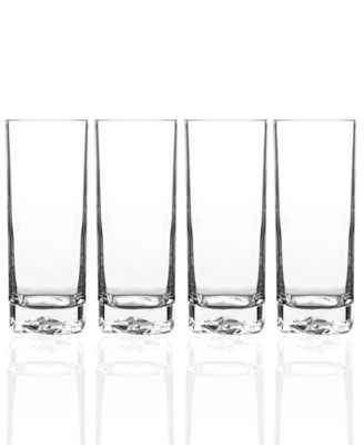 Luigi Bormioli Glassware, Set of 4 On the Rocks Highball Glasses