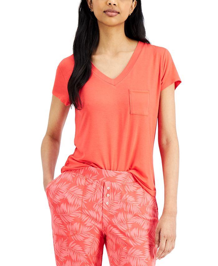 Alfani - Super-Soft Knit Sleep T-Shirt