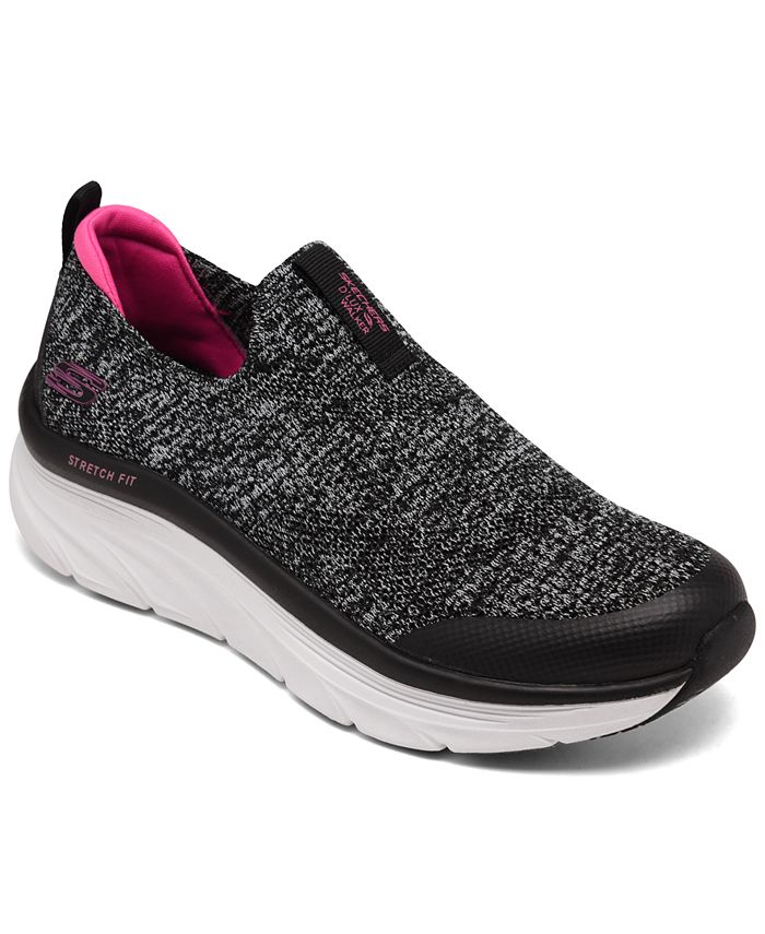 Skechers - Women's Relaxed Fit: D'Lux Walker - Quick Upgrade Athletic Walking Sneakers from Finish Line