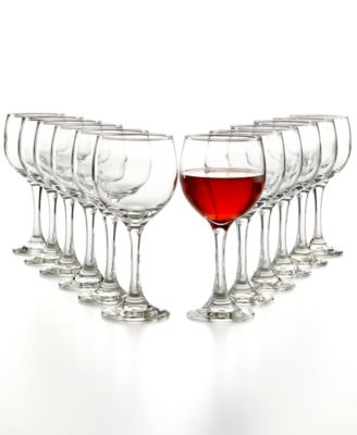 The Cellar Glassware Basics 12-Pc. Red Wine Set, Only at Macy's