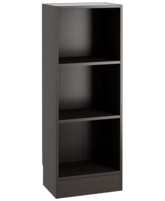 Berkley Ready-to-Assemble Short Narrow Bookcase, Direct Ship