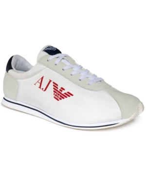 Armani Jeans Eagle Sneakers Mens Shoes