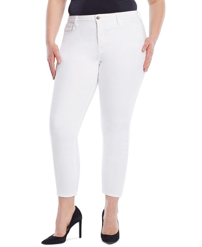 JEN7 - Cropped Skinny Jeans