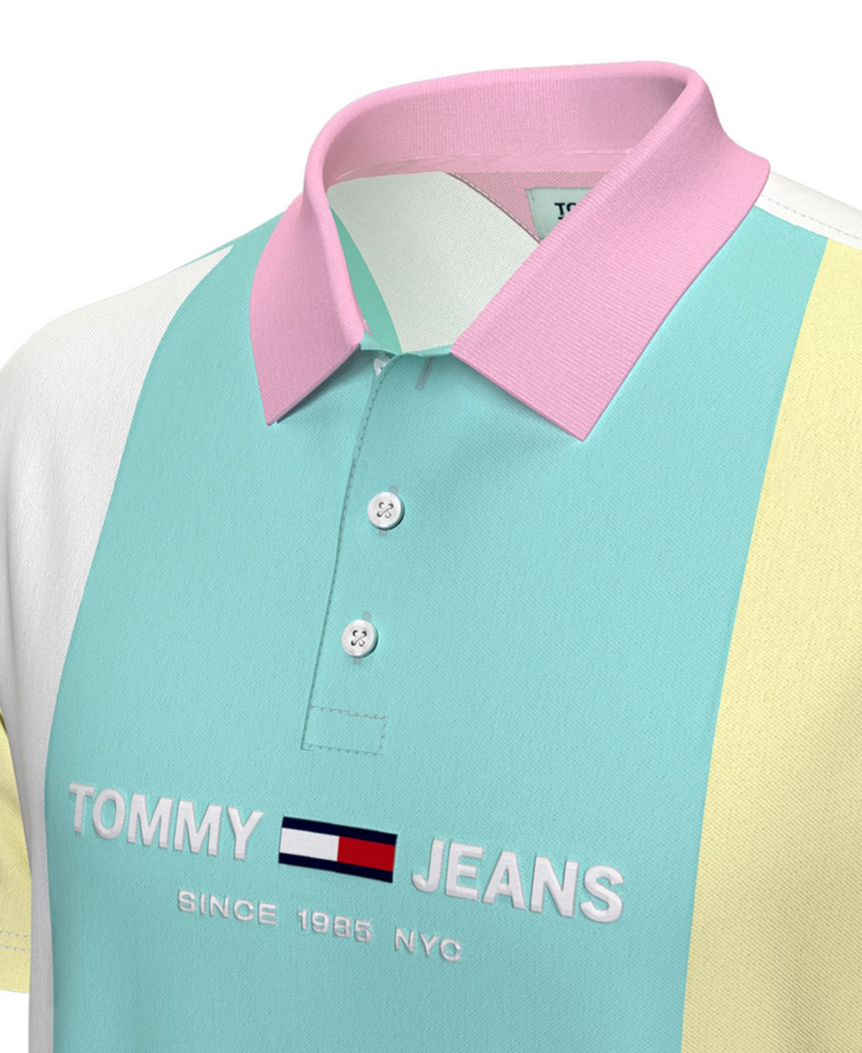 Tommy Hilfiger Tommy Hilfiger Men's Pastel Capsule Colorblocked Polo Shirt & Reviews - Casual Button-Down Shirts - Men - Macy's