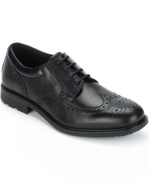Rockport Men's Essential Details Waterproof Wing Tip Oxfords Men's Shoes