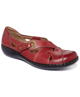 Clarks Womens Shoes In Motion Rock Walking Shoes
