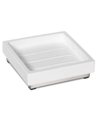 Roselli Trading Company Polished Stainless Steel Suite Room Soap Dish