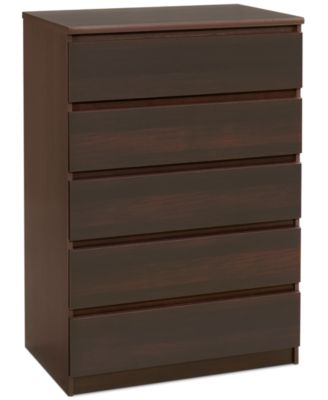 Essex Ready-to-Assemble 5 Drawer Chest, Direct Ship