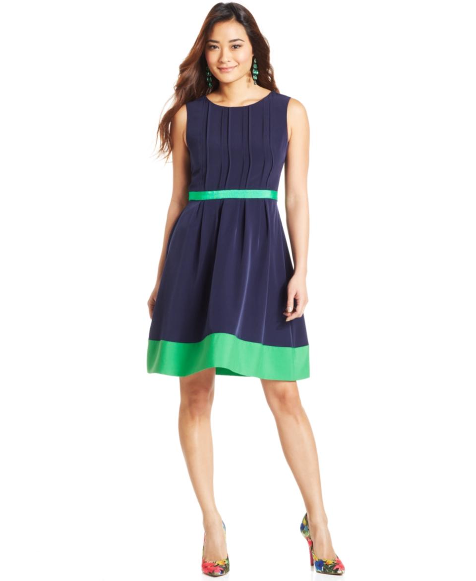 Jessica Simpson Sleeveless Colorblock Dress   Dresses   Women