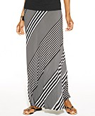 INC International Concepts Petite Striped Maxi Skirt