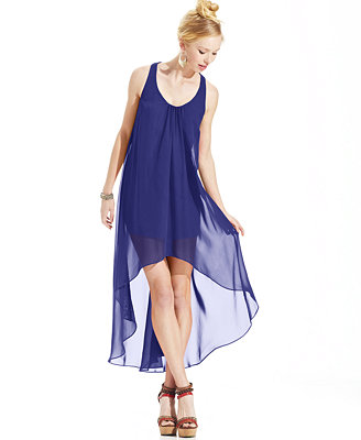 Sale alerts for  Hailey Logan Juniors' Illusion High-Low Dress - Covvet