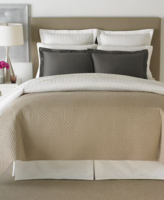 Charter Club Damask Quilted Twin 2 Piece Coverlet Set