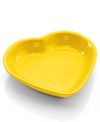 Fiesta Sunflower Medium Heart Bowl