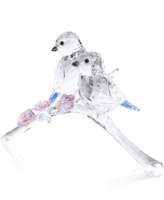 Swarovski Blue Chickadees Collectible Figurine