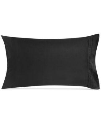 Donna Karan Home Pair of Ebony Standard Pillowcases