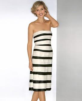 Macy s Women s BCBG Strapless Contrast Pleat Dress - Stylehive