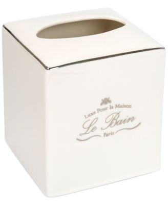 Kassatex Bath Accessories, Le Bain Tissue Holder