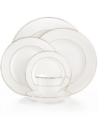 Dinnerware, Opal Innocence Stripe Large Oval Platter '16