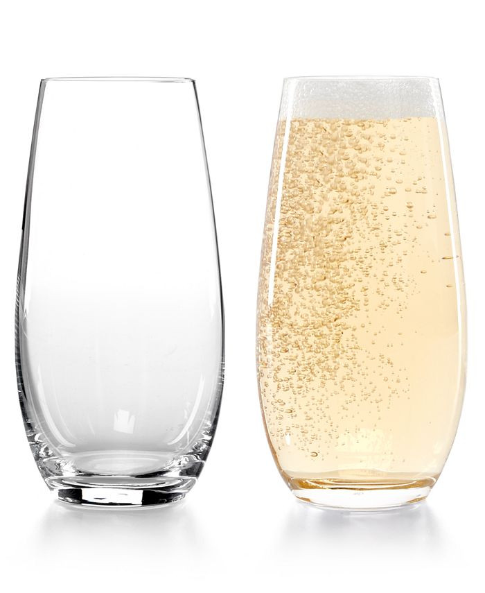 Riedel - Set of 2 O Stemless Champagne Glasses