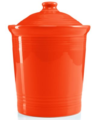 Fiesta Tangerine Large Canister