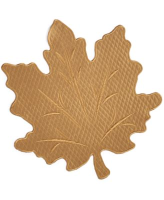 Homewear Harvest Gold Quilted Leaf Placemat