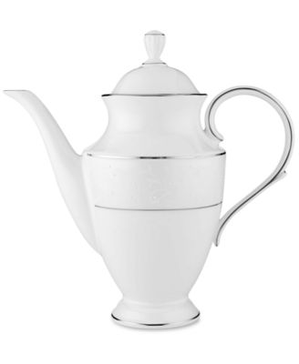 Lenox Opal Innocence Coffee Pot