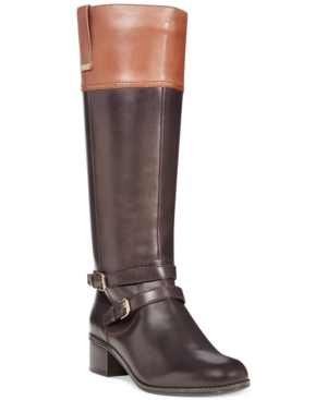 Bandolino Carlotta Tall Riding Boots - A Macys Exclusive Womens Shoes