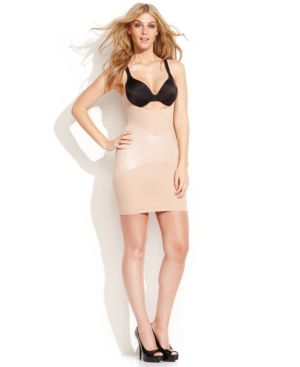 Star Power by Spanx Firm Control Lady Luxe Open-Bust Full Slip 2358