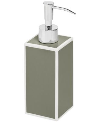 CLOSEOUT! Kassatex Bath Accessories, Gray Soho Soap and Lotion Dispenser