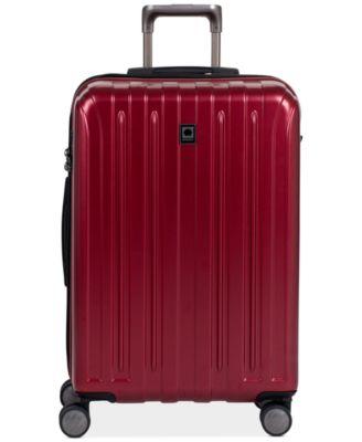 """Delsey Helium Titanium 25"""" Expandable Hardside Spinner Suitcase"""